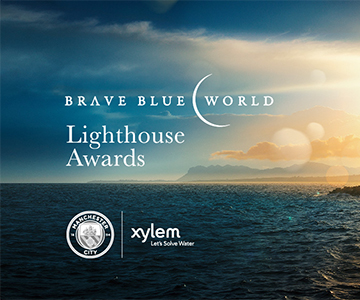Xylem and Manchester City Football Club win Lighthouse Award for Innovation in Communication and Partnerships