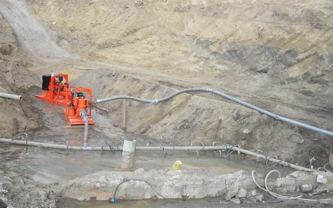 Construction Site Dewatering & Tunneling