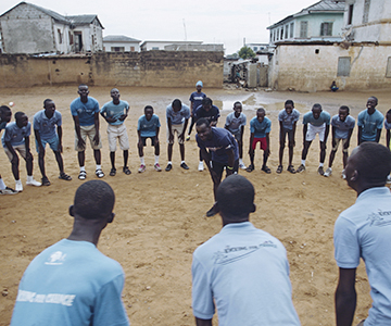 Manchester City fans vote for Xylem's safe water project in Ghana