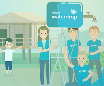 Join Xylem's customer loyalty program to bring water to those in need