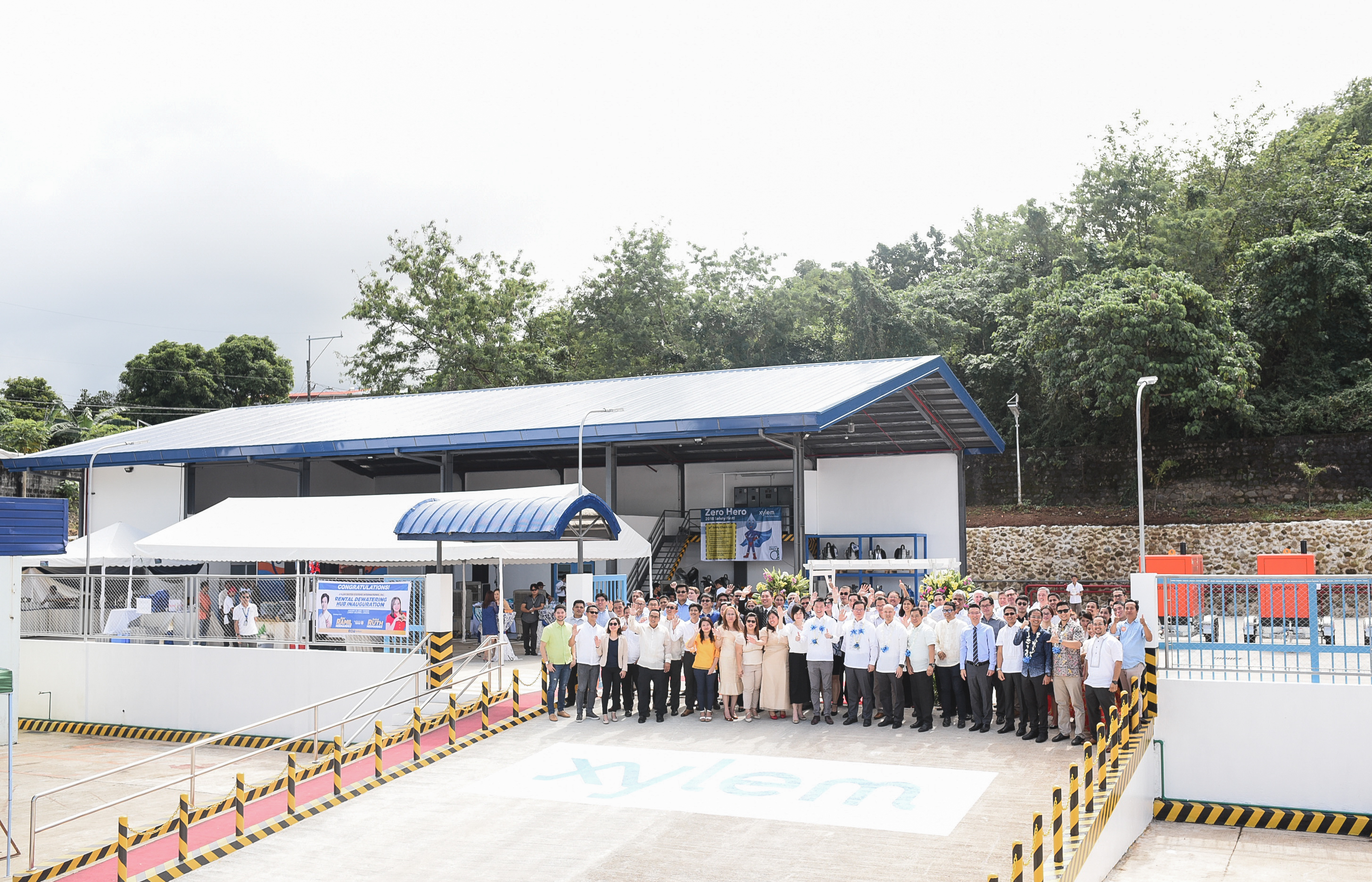 Xylem New Dewatering Hub in the Philippines