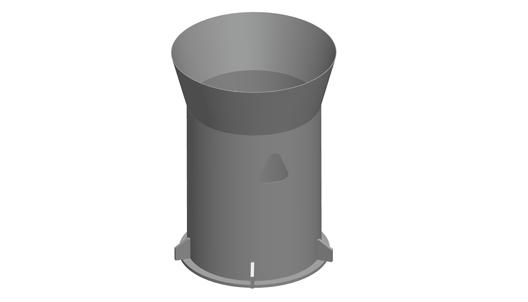 Adaptor, Discharge column