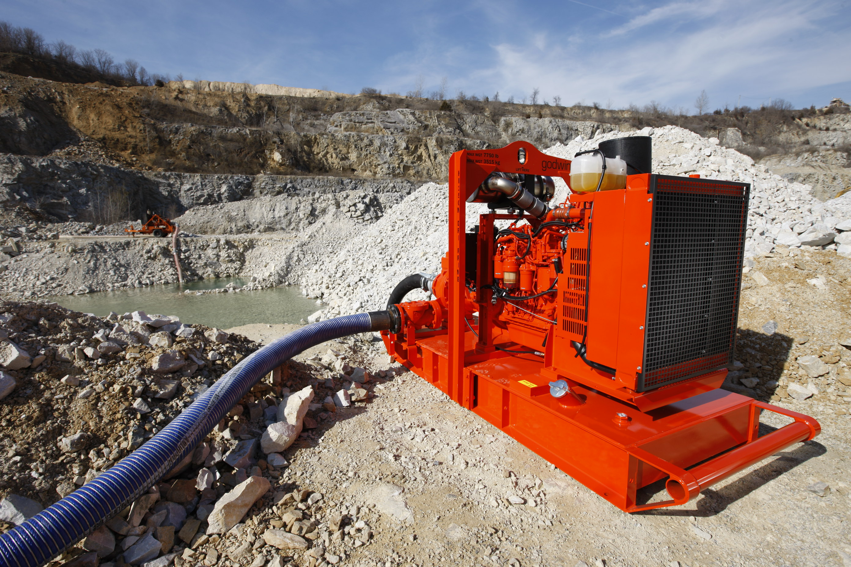 Xylem's Open Pit Dewatering Methods