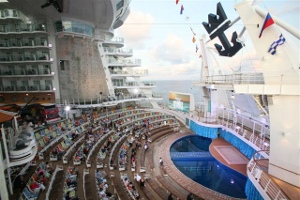 The world's largest cruise liner puts Xylem centre stage